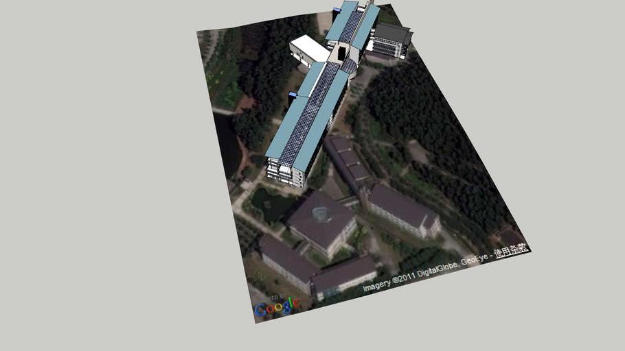 广东轻工职业技术学院南海校区一栋教学楼