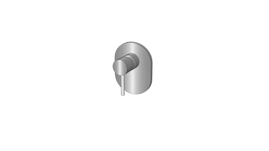 Acabamento para misturador de Chuveiro Cuff Kohler - T37311BR-4-CP