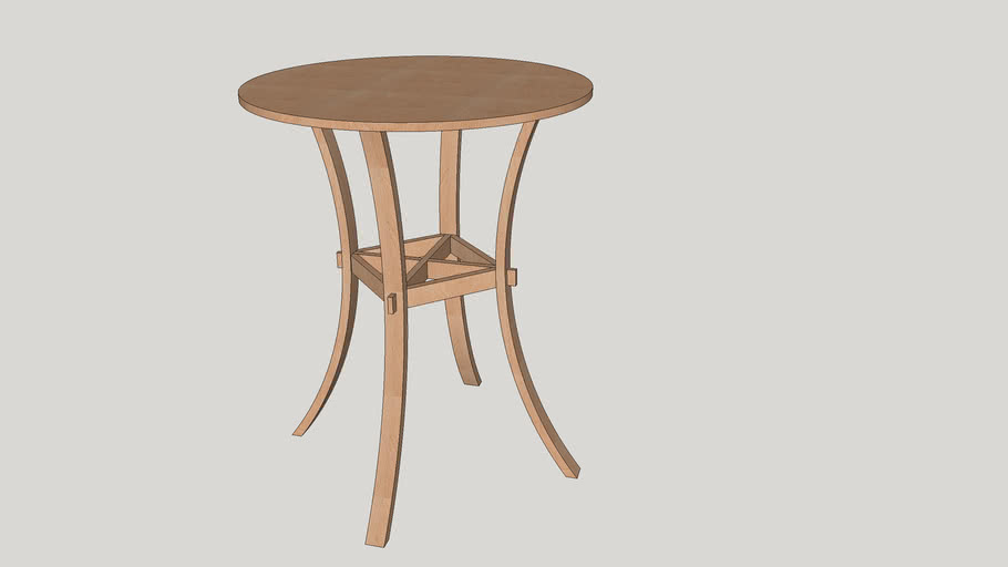 Bar-Height Bistro Table