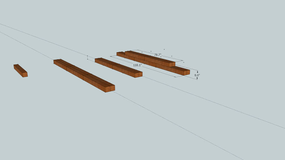 wooden berm pipes