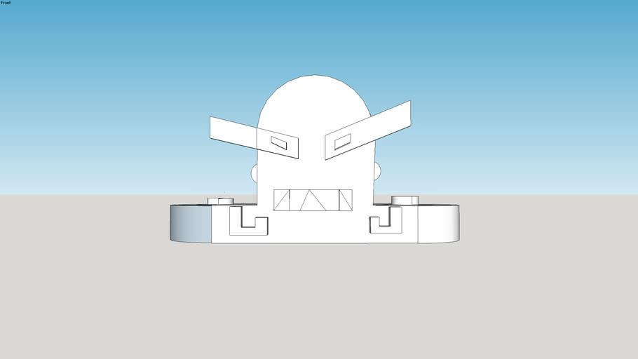 Super Villian Head