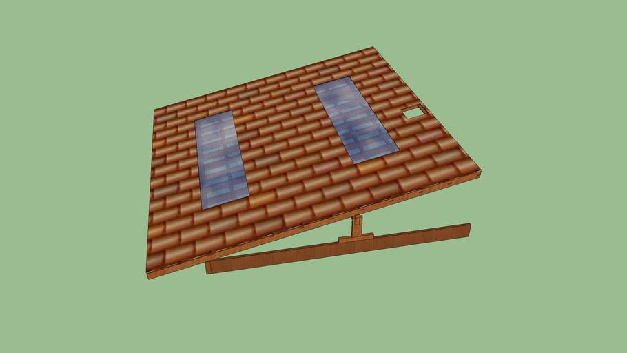 telhado aparente