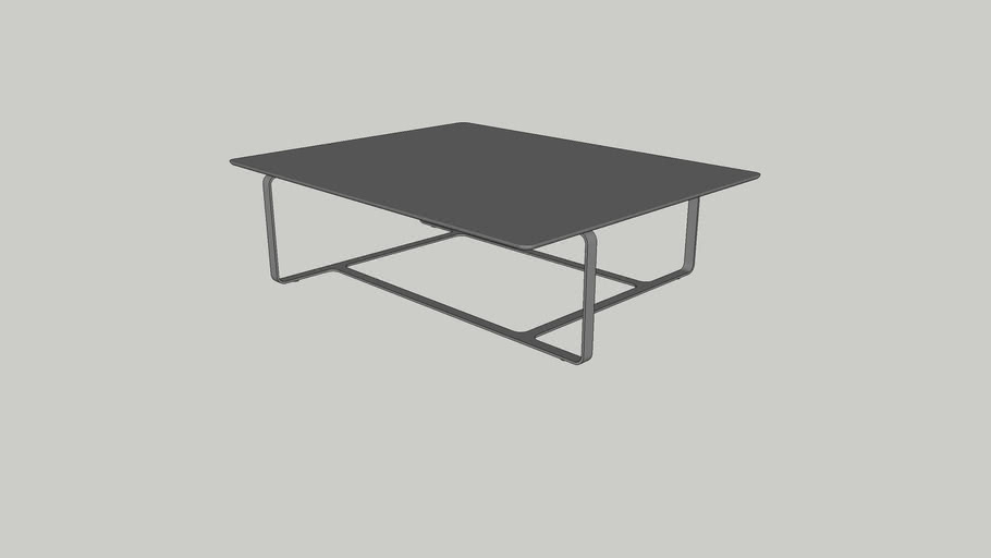Root Coffee Table Rectangle by Wendelbo