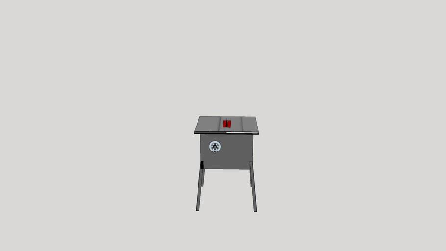 Serra de mesa tipo Skil 3610
