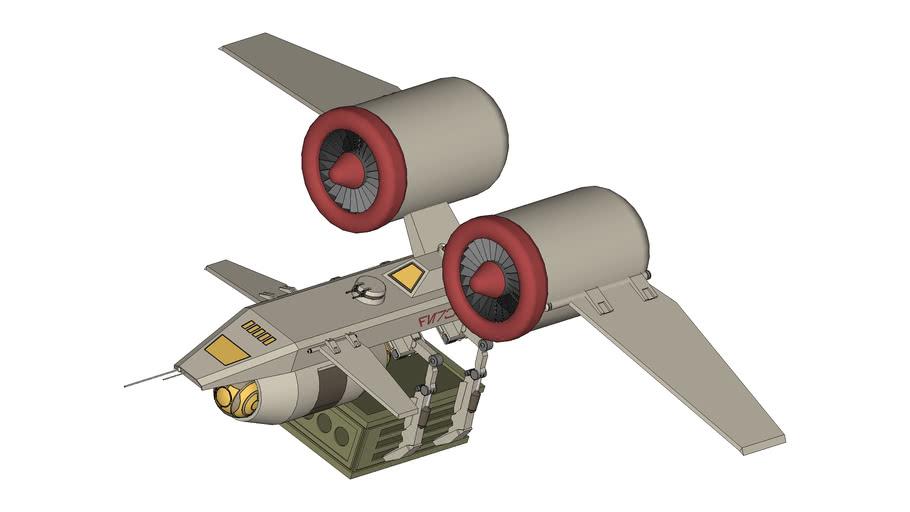 'The Derkolo' Custom VX-3R Gulginaw Light Freighter