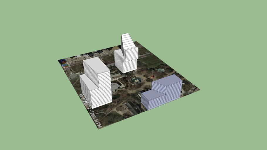 BIMStorm Chicago Model w/ floors