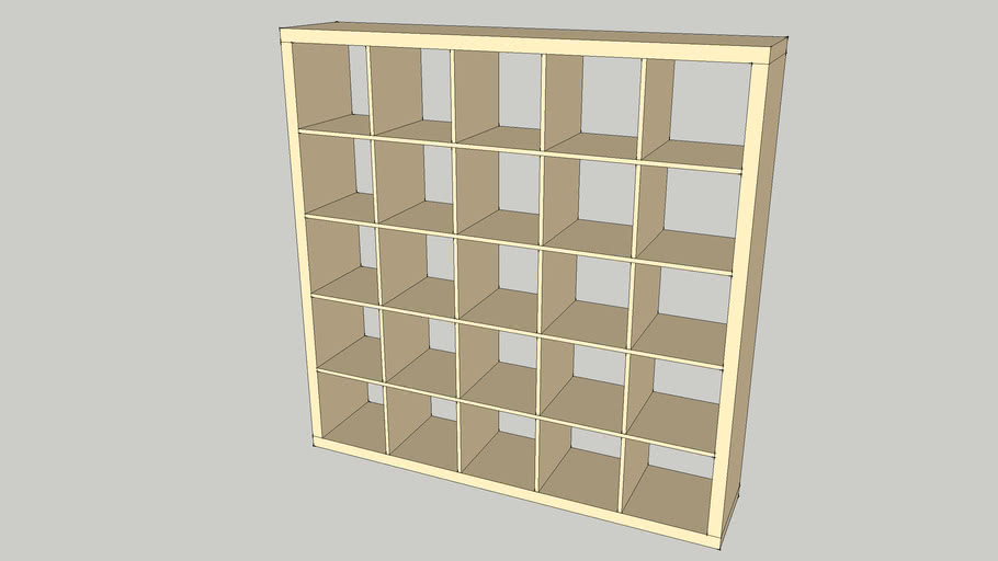 IKEA Expedit 5x5, birke