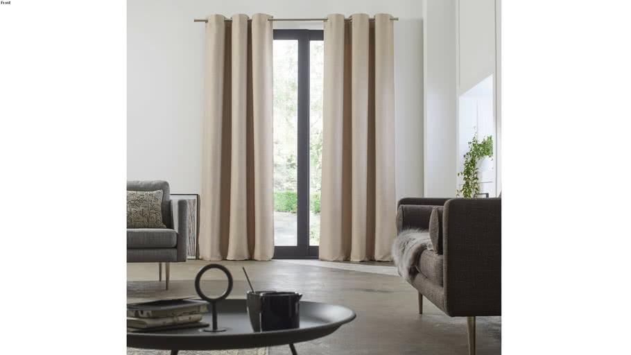 Eyelet curtain LINA by by Madura Very Light Beige / 89€ - 179€ TTC