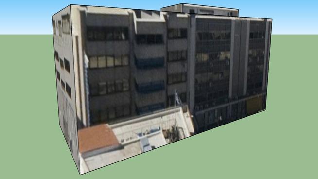 Building in Athens, Greece Βερόπουλος