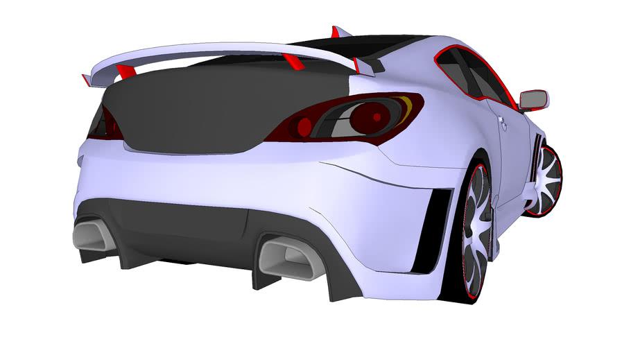 Tuned Hyundai Genesis coupe