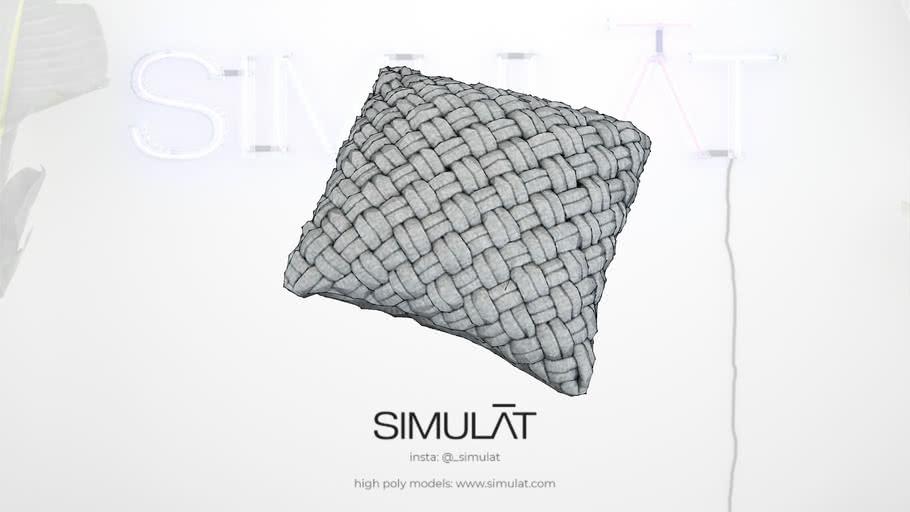 Knit Cushion