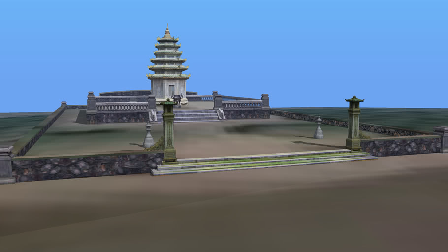 Thien Mu Pagoda - Inner Pagoda
