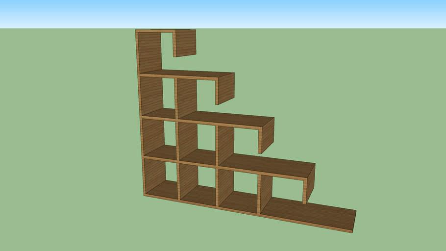 bookshelf, estante