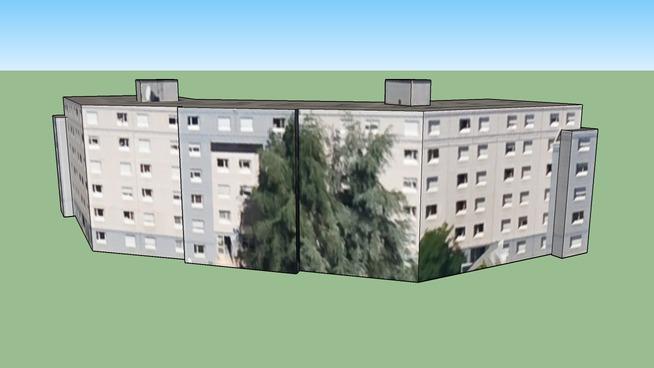 Building in 69100 Villeurbanne, France