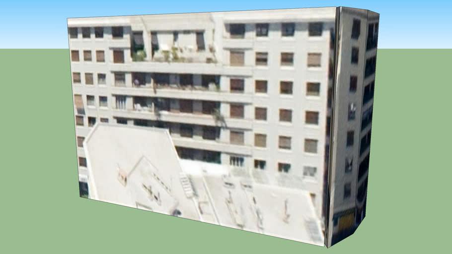 Marsilya, Fransa adresindeki yapı