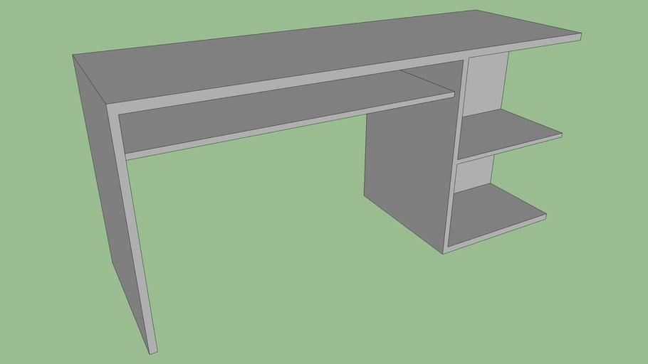 Bureau Simple Pour Ordinateur 3d Warehouse