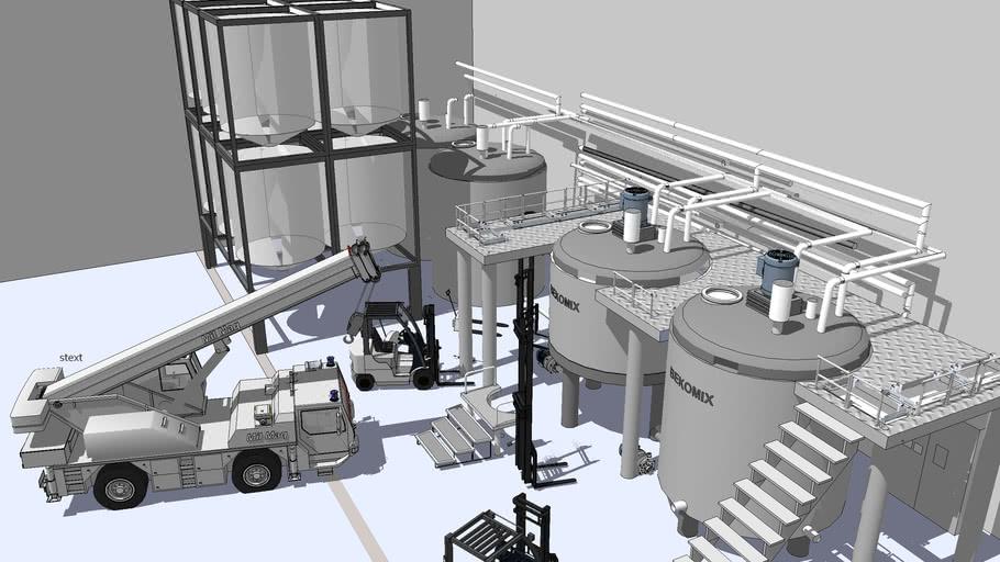 Chemical Plant - Mil Maq Rio