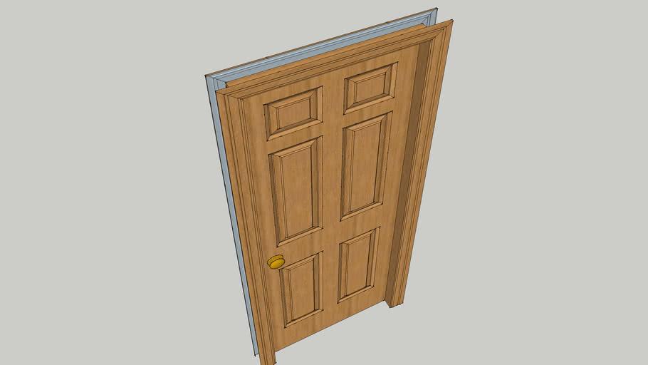 standard  internal door set