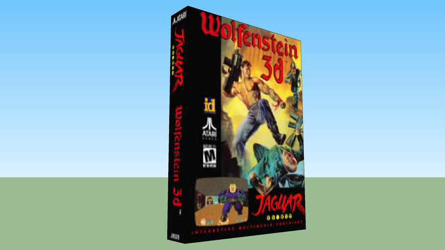 Atari Jaguar - Wolfenstein 3D - Boxed Game - NTSC Version