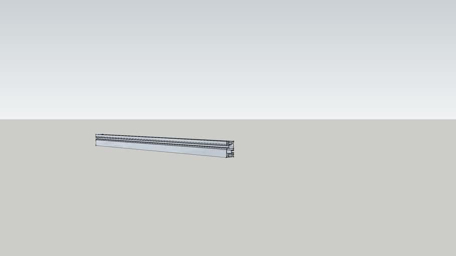 Mage Mounting Rail 60-40