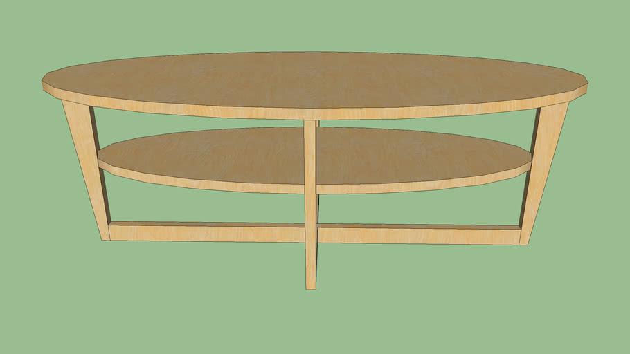 Ikea Vejmon Coffee Table 3d Warehouse