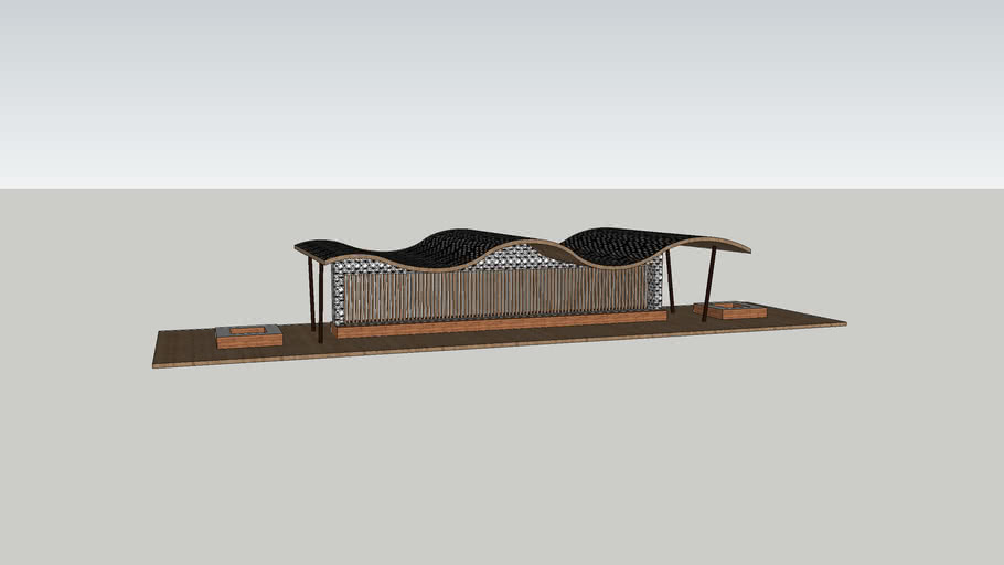 NUTTALL_Cameron_ARCH1101_Project 2_Sketchup Model