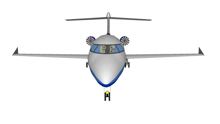 bombardier  challenger 300 buisness jet