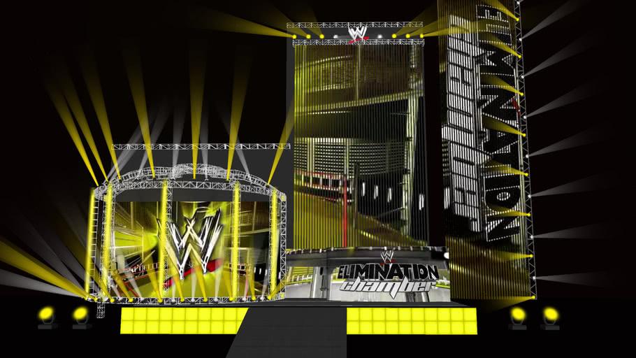 WWE Elimination Chamber 2010 HD