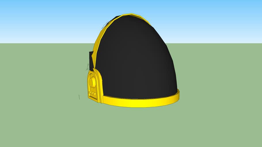 Guy-Manuel's helmet from Daft Punk