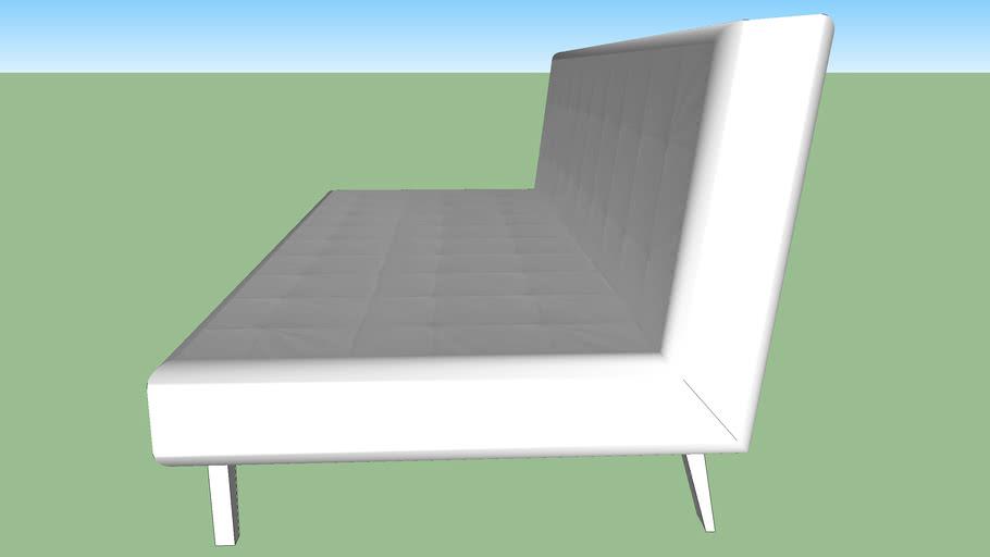 White Convertible sofa2