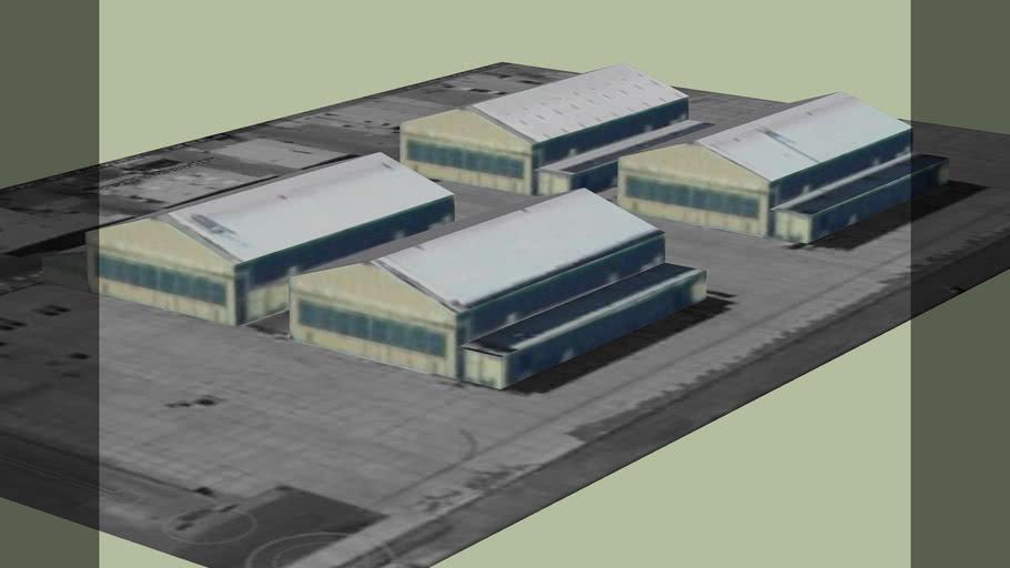 Area 51 hangars