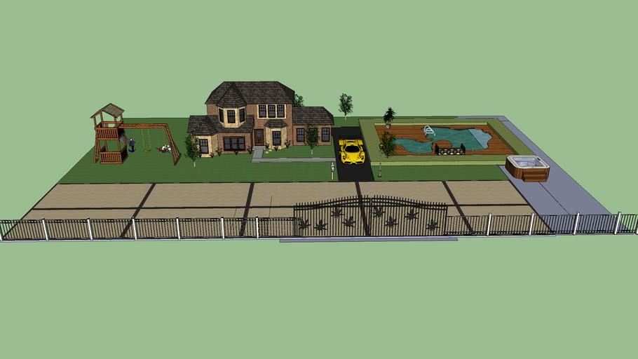 3D J mansion