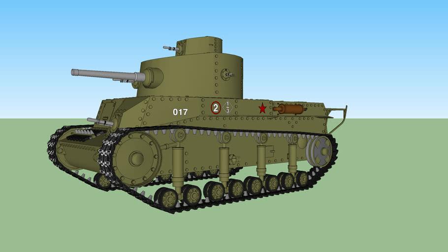 T-24 (Soviet Tank)