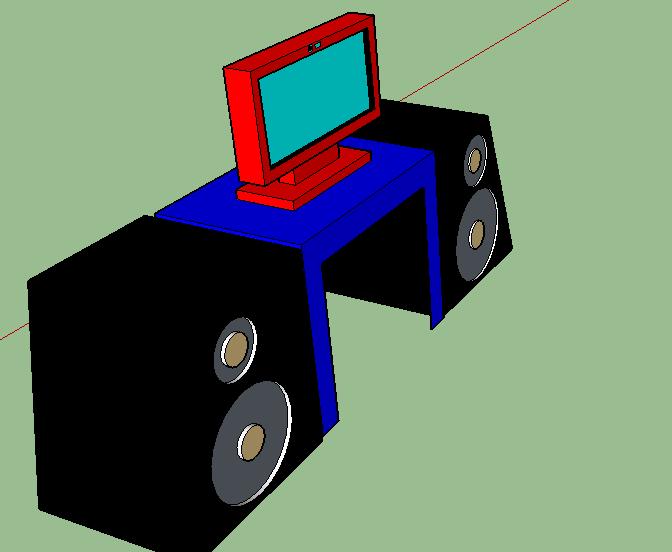 Speakerz w/ computer