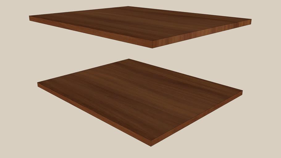 shelf PAX medium brown 75x58