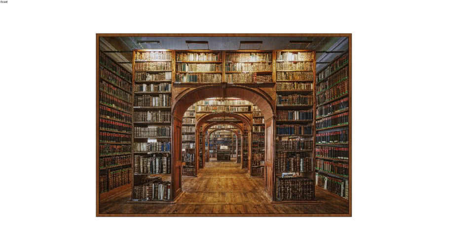 ARTIMAGE - Upper Lausitzer Library Of Sciences In Germany - 213 x 153 cm