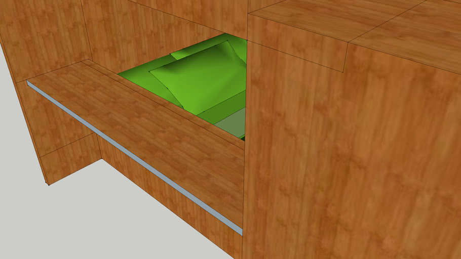 Bunk Bed Couch 3d Warehouse