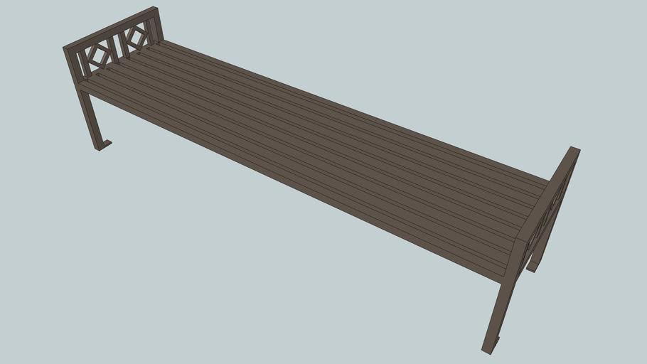 Artisan 8' Flat Bench