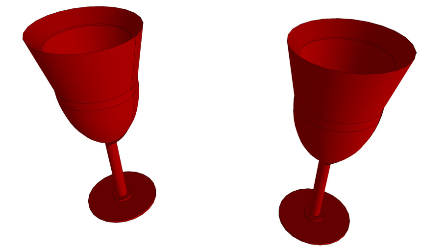 taças vermelhas