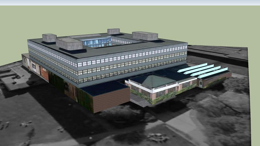 Shackleton Building, University of Southampton