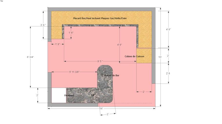 Plan De Cuisine 3d Warehouse