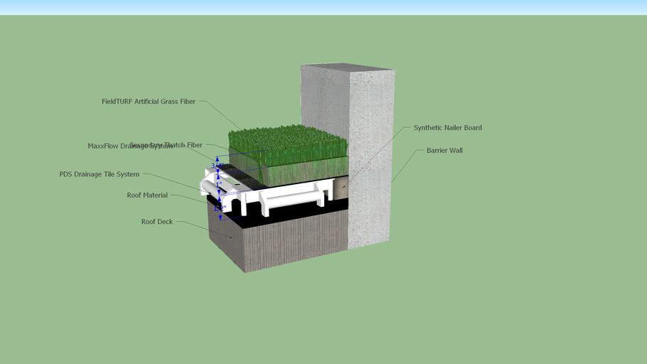Green Roof 3d Warehouse
