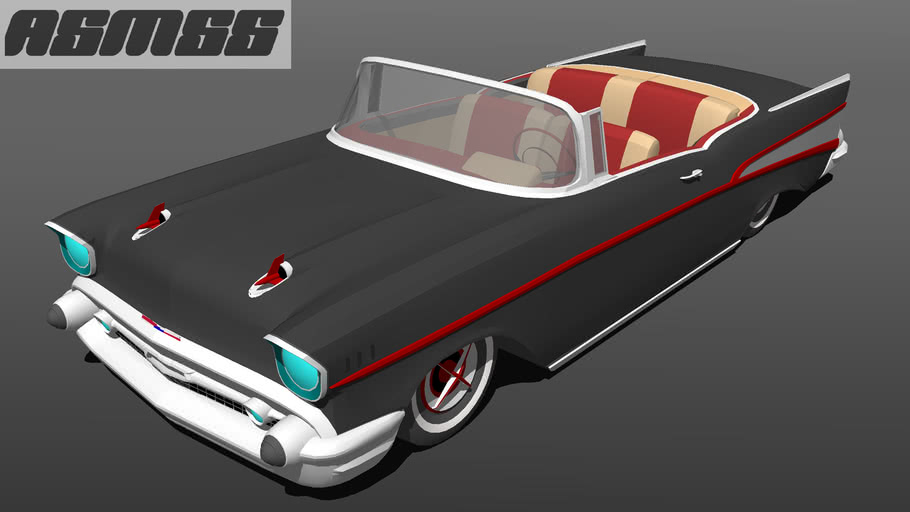 Modified 1957 Chevrolet Bel Air