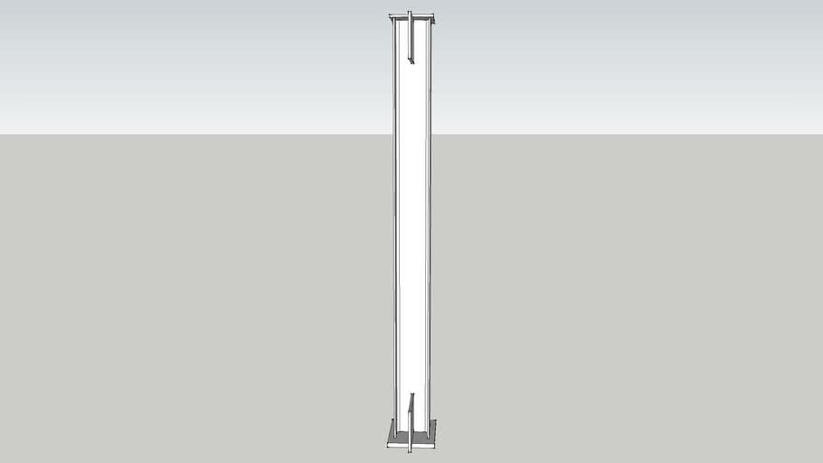 W6x15 Column