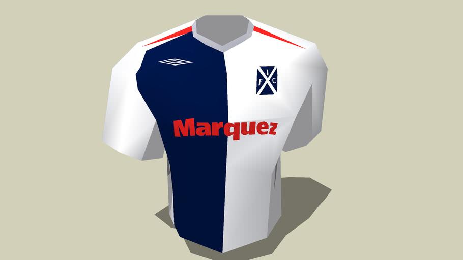 Camiseta Independiente 07 Suplente
