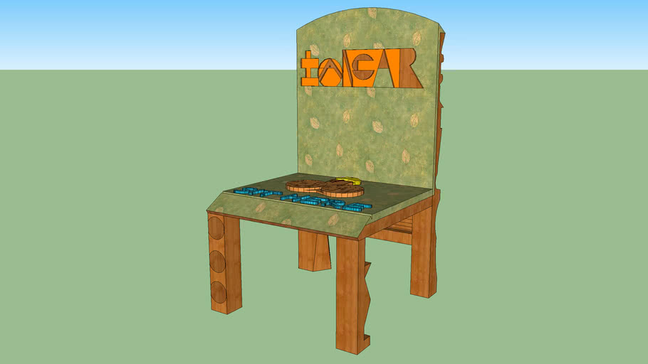 CHAIR 3D (MY FIRST 3D THING)