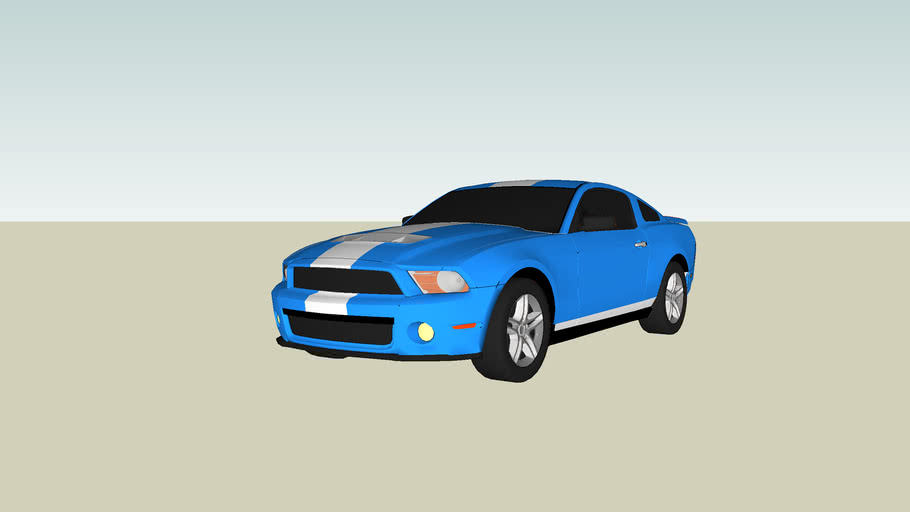 ford shelby mustang gt 500 2010