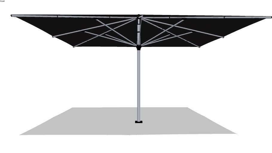 Solero Parasol Basto Pro 500x500cm
