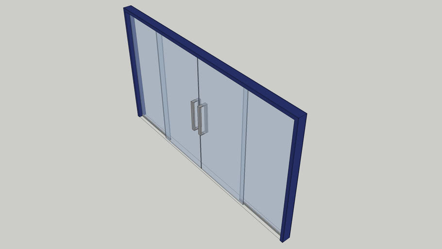 Double Slide Glass Doors (Non-CGM)