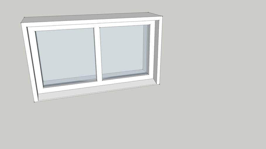 Fast fönster 7x5 2-luft